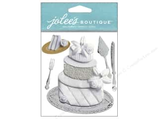 Jolee's Boutique Stickers Wedding Cake