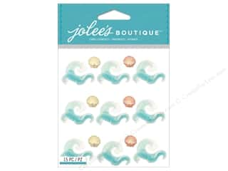 scrapbooking & paper crafts: Jolee's Boutique Stickers Waves Repeat