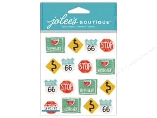 Jolee's Boutique Stickers Road Signs Repeat