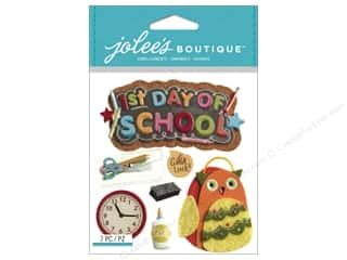 scrapbooking & paper crafts: Jolee's Boutique Stickers 1st Day of School
