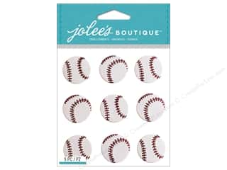 scrapbooking & paper crafts: Jolee's Boutique Stickers Baseball Repeat