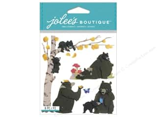 stickers: Jolee's Boutique Stickers Bear Family