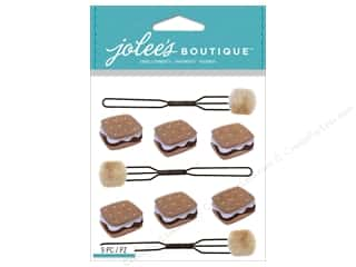 scrapbooking & paper crafts: Jolee's Boutique Stickers S'mores Repeat