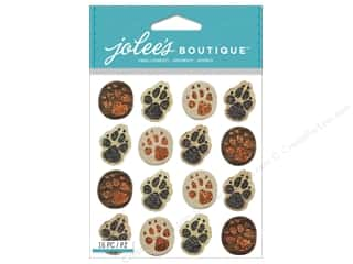 scrapbooking & paper crafts: Jolee's Boutique Stickers Animal Tracks Repeats