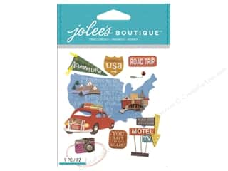 scrapbooking & paper crafts: Jolee's Boutique Stickers Road Trip