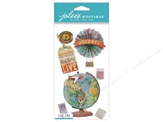 stamps: Jolee's Boutique Stickers Map Medallions
