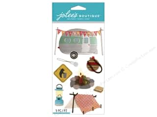 scrapbooking & paper crafts: Jolee's Boutique Stickers Camping