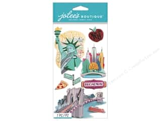 scrapbooking & paper crafts: Jolee's Boutique Stickers New York