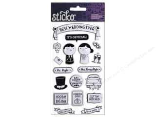 EK Sticko Stickers Best Wedding Ever