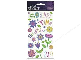 Spring Stickers: EK Sticko Stickers Spring Time Fun
