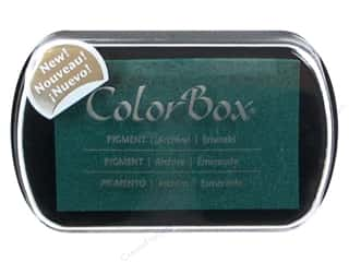 ColorBox: ColorBox Pigment Inkpad Full Size Emerald