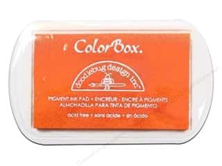 ColorBox: ColorBox Pigment Ink Pad Full Size Doodlebug Tangerine