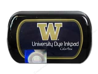 Clearance ColorBox Premium Dye Ink Pad: ColorBox Dye Ink Pad University of Washington Purple