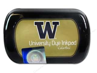Clearance ColorBox Premium Dye Ink Pad: ColorBox Dye Ink Pad University of Washington Gold