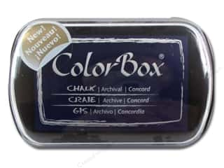 Clearance ColorBox Fluid Chalk Ink Pad Queues: ColorBox Fluid Chalk Ink Pad Full Size Concord