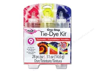 Weekly Specials Tulip Body Art: Tulip Dye Kits One Step Tie Dye Psychedelic 3 Color