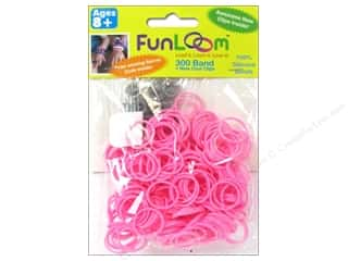 FunLoom Silicone Bands 300 pc. Pink