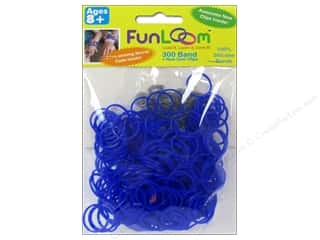 FunLoom Silicone Bands 300 pc. Blue