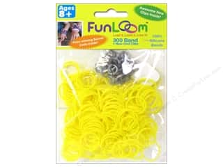 FunLoom Silicone Bands 300 pc. Yellow