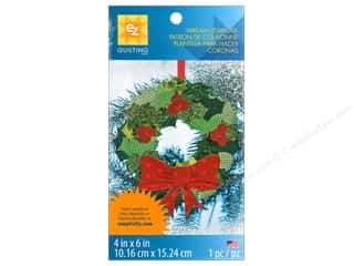 Quilting Templates / Sewing Templates: EZ Quilting Template Shapes Wreath