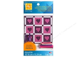 sewing & quilting: EZ Quilting Template Shape Curved Heart