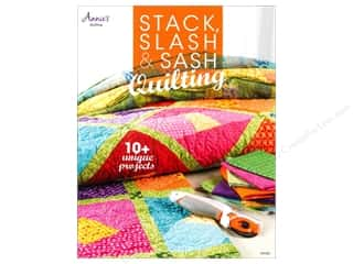 Clearance Blumenthal Favorite Findings: Annie's Stack, Slash & Sash Quilting Book