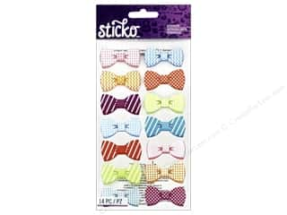 stickers: EK Sticko Stickers Pattern Bows