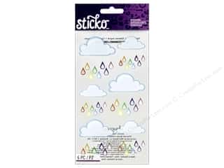 scrapbooking & paper crafts: EK Sticko Stickers Rainbow Clouds