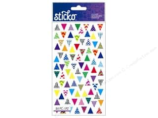 EK Sticko Stickers Trendy Triangles