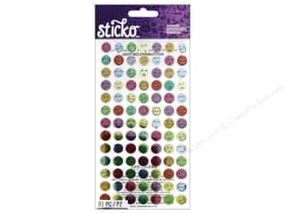 EK Sticko Stickers Silly Faces