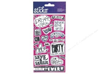 scrapbooking & paper crafts: EK Sticko Stickers Teen Chat