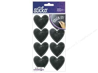 EK Sticko Stickers Chalk Hearts