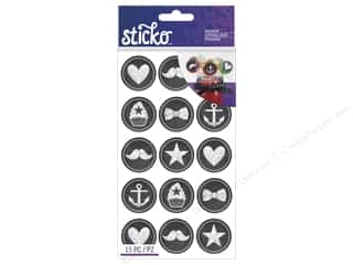 scrapbooking & paper crafts: EK Sticko Stickers Chalk Icons Party
