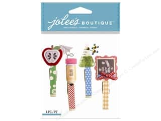 scrapbooking & paper crafts: Jolee's Boutique Embellishments School Clips