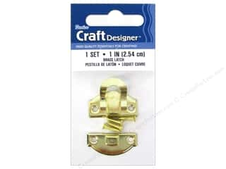 craft & hobbies: Darice Class Button Set 1 in. Brass 1 pc.