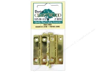 Darice Hinges 1 5/8 in. Brass 2 pc.