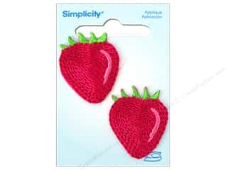 Simplicity Iron On Applique Strawberry