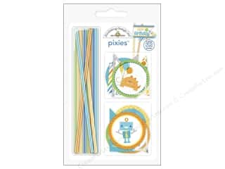 die cuts: Doodlebug Embellishment Hip Hip Hooray Pixies Assorted