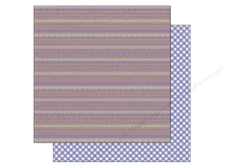 Doodlebug 12 x 12 in. Paper Kraft In Color Lilac Scallop