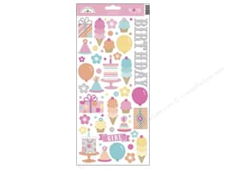 Stickers: Doodlebug Stickers Sugar Shoppe Cardstock Icons