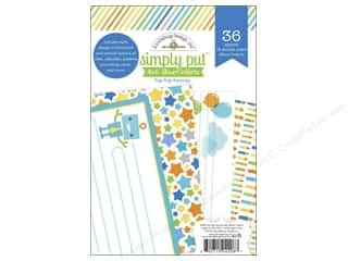 "scrapbooking & paper crafts: Doodlebug Album Inserts Hip Hip Hooray 4""x 6"""
