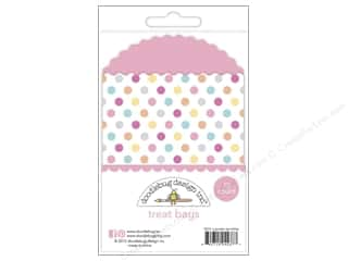 Doodlebug Embellishment Sugar Shoppe Treat Bags Sprinkles Cupcake