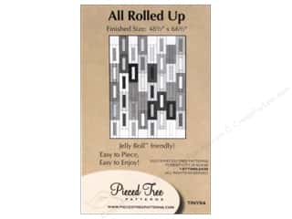 Pieces Be With You: Pieced Tree Tiny All Rolled Up Pattern Card
