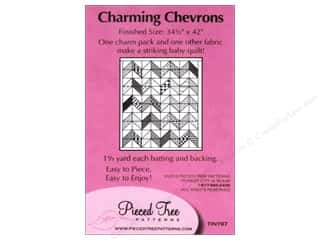 Pieceful Designs: Pieced Tree Tiny Charming Chevrons Pattern