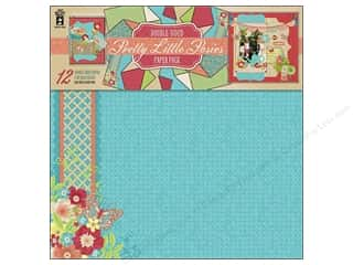 "Hot off the Press  Papers : Hot Off The Press Paper Pack 12""x 12"" Pretty Little Posies"