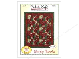 books & patterns: Fabric Cafe Simply Blocks 3 Yard Quilt Pattern