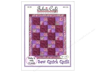 books & patterns: Fabric Cafe Sew Quick 3 Yard Quilt Pattern