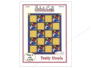 books & patterns: Fabric Cafe Pretty Simple 3 Yard Quilt Pattern