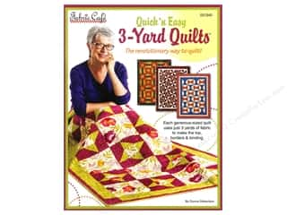 Fabric Cafe Quick N' Easy 3 Yard Quilts Book