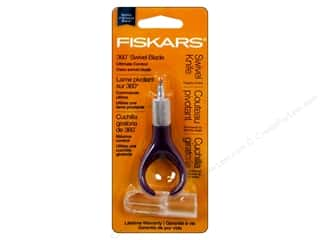 craft knife: Fiskars Fingertip Swivel Detail Craft Knife